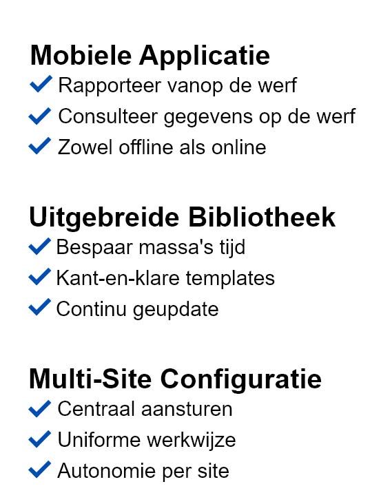 vca software mobile app offline online templates left website