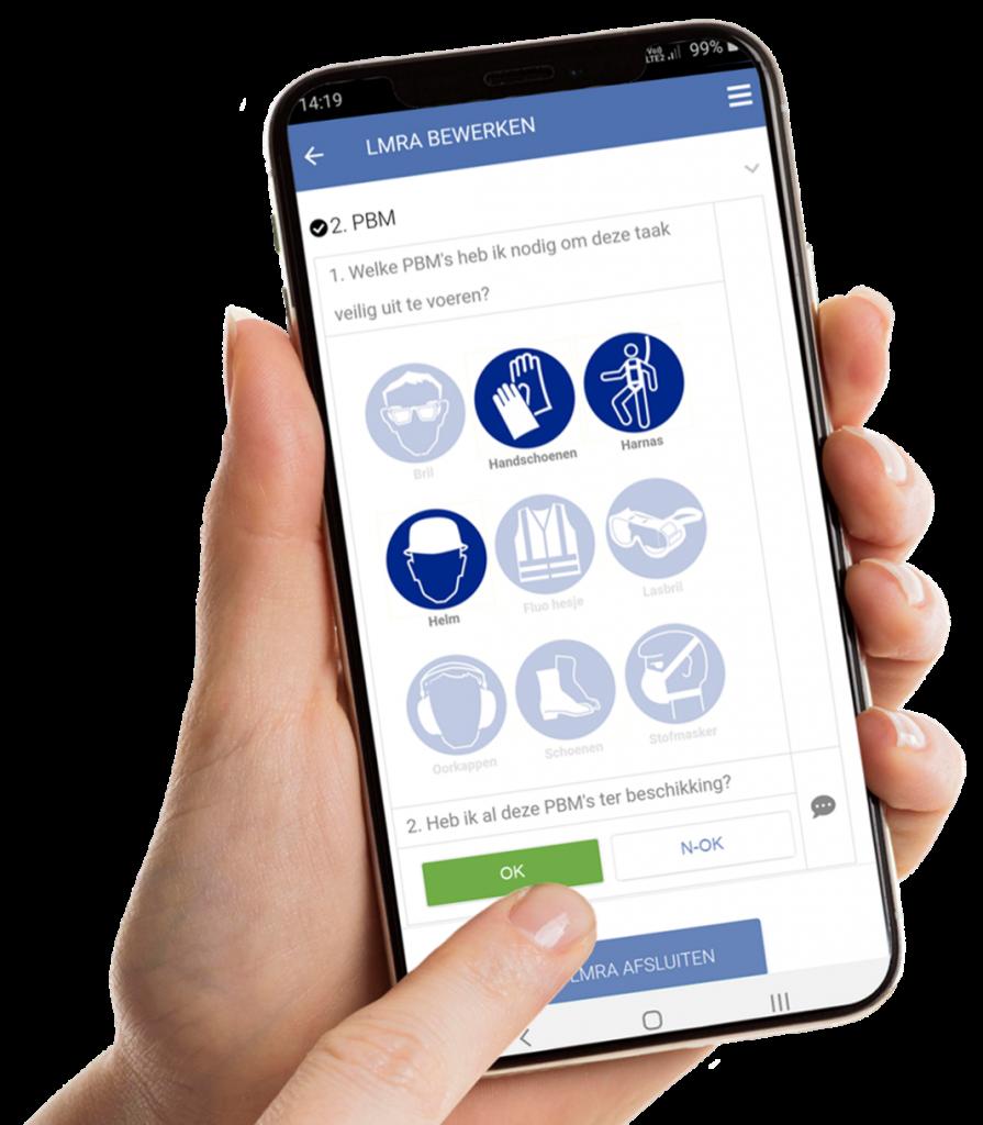 VCA-Online preview LMRA app smartphone