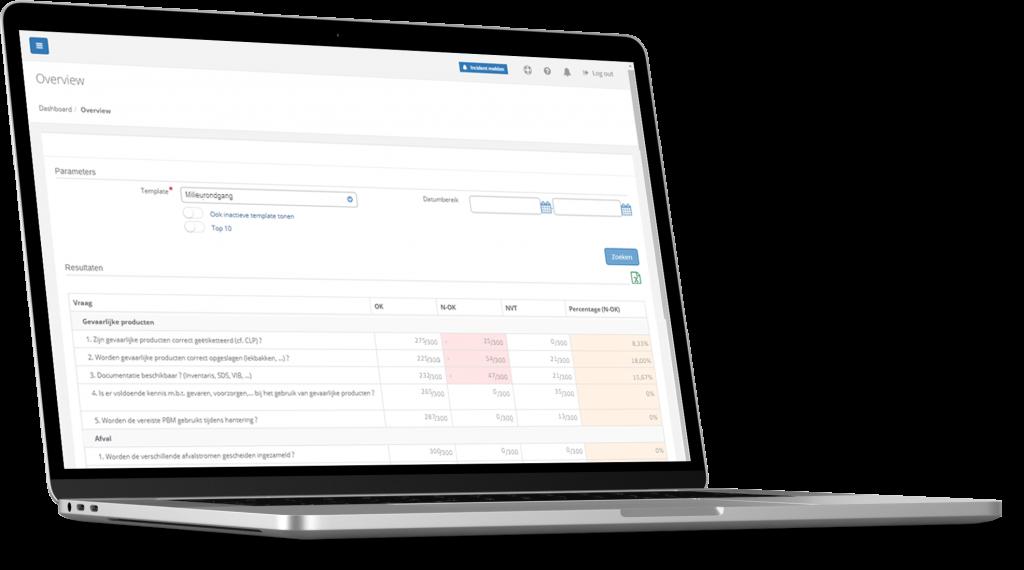 VCA-Online preview trendanalyse laptop