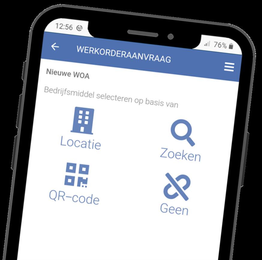 VCA-Online preview werkorderaanvraag app smartphone
